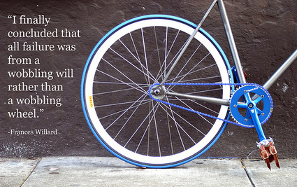 Top 7 Most Inspiring Bicycle Quotes | Mission Bicycle Company | Classic Steel Bikes | Scoop.it