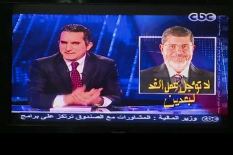 Inquiétudes sur la liberté des médias dans l'Egypte sous Morsi | Égypt-actus | Scoop.it