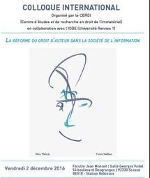 CJUE et droit d'auteur, articulation des normes internationales et européennes, Jean-Sylvestre Bergé | Droit d'auteur | Scoop.it