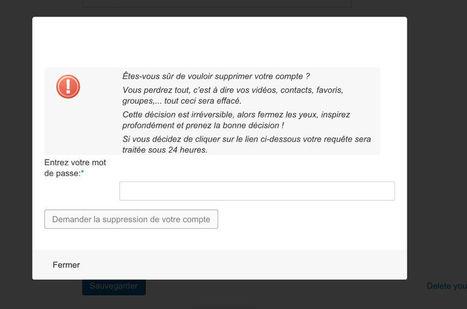 Supprimer un compte Dailymotion   Me Désinscrire   Se désinscrire des Réseaux Sociaux   Scoop.it