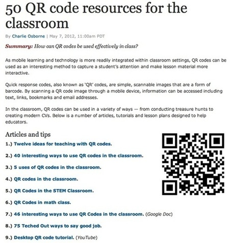 QR Codes lessons and activities | iGeneration - 21st Century Education | Scoop.it