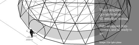 Igloo Vision : 360º Immersive Sound & Vision | Cabinet de curiosités numériques | Scoop.it