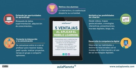 Cinco ventajas al aplicar el mobile learning | Educacion, ecologia y TIC | Scoop.it