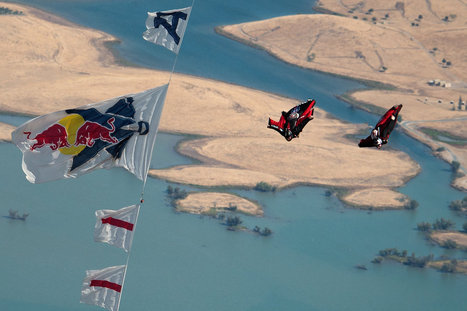 World's First: Wingsuit Flyers Race at 160 MPH - Red Bull (International) | Outdoor Sports | Scoop.it