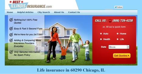 Life insurance and Life insurance online in 60290 Chicago, Illinois | life insurance chicago | Scoop.it