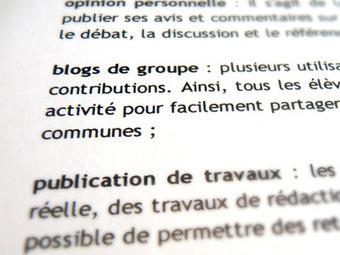 L'Agence nationale des Usages des TICE - Organiser l'écriture collaborative des élèves | ma mémoire externe - l'écriture collaborative | Scoop.it