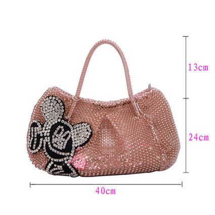Mickey Mouse Bags Rhinestone Handbags Orange For Ladies [women-bags-034] - $123.00 : Hello Kitty Bags For Ladies, Anteprima Bags Style Stereo Hello Kitty Bags ,Panda Bags , Diamond Bags For Womens ... | Amazing Hello Kitty Bags | Scoop.it