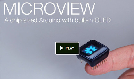 MicroView : un mini afficheur OLED multi-fonctions | Multiroom audio & video | Scoop.it