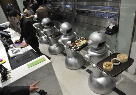 Wall.e Restaurant Staffed With Robots Opens in China | technological unemployment | Scoop.it