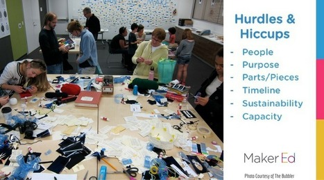 The Hiccups and Hurdles of Makerspace Planning (and How to Avoid Them) | iPads, MakerEd and More  in Education | Scoop.it