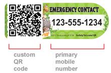 un QRcode pour ramener les enfants perdus à leurs parents   QRdressCode   Scoop.it
