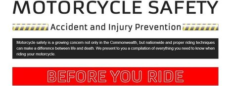 Infographic - Motorcycle Safety, Accident and Injury prevention / Articles / BikePortal | Autoportal India | Scoop.it