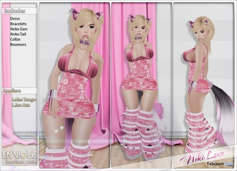 Neko Love Outfit and Appliers by Envious | Teleport Hub - Second Life Freebies | n? | Scoop.it