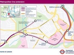 Metropolitan Line Extension funding agreed   Global railway news   Scoop.it