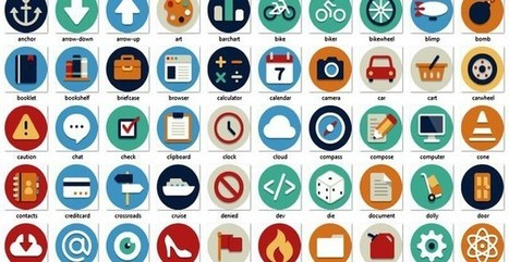 Beautiful Flat Icons, 132 iconos planos gratuitos en varios formatos | Recull diari | Scoop.it