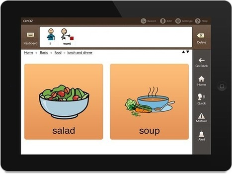 Avaz - AAC App for Autism (Augmentative Picture Communication Software for Children with Special Needs)   e-learning   Scoop.it
