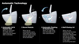 Introducing the Satis, Japanese Smart Toilet | GadgeTell | All Technology Buzz | Scoop.it