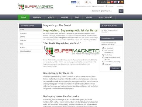 Neodym Magnete und Super Magnete von Magnet Neodymium | Neodym Magnete und Super Magnete im Magnetshop | Scoop.it