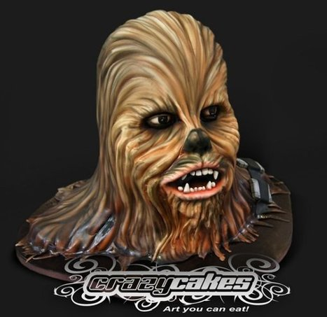 Chewbacca Cake Is Soft, Not Chewy on the Inside | All Geeks | Scoop.it