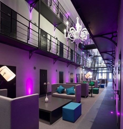 Het Arresthuis – A Luxury Prison Hotel You Won't Want to Escape from | Strange days indeed... | Scoop.it