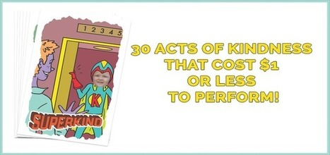30 Acts of Kindness that Cost $1 or Less to Perform | This Gives Me Hope | Scoop.it