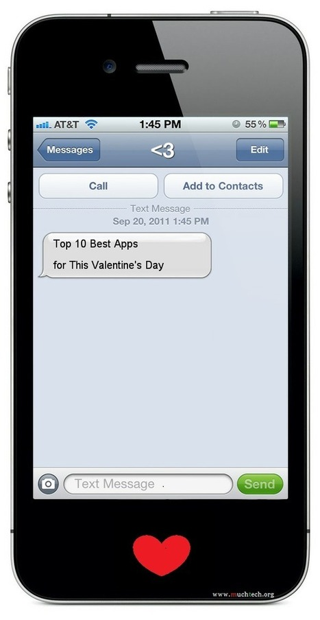 Top 10 Best Apps for This Valentine's Day ~ muchTech | MuchTech Daily Publication | Scoop.it
