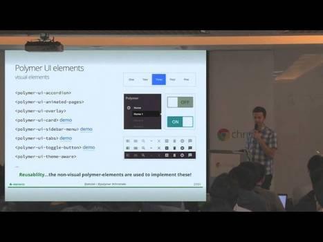 Building modern apps with Polymer & Web Components | JavaScript in Unternehmensanwendungen | Scoop.it