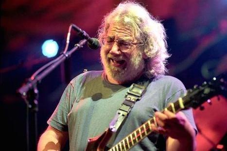 On Jerry Garcia's birthday, Dead's Weir reflects - CNBC.com | Sunshine daydream | Scoop.it