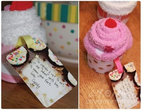 Tutorial Sock cupcake | MOnica e lo scrapbooking | Scoop.it