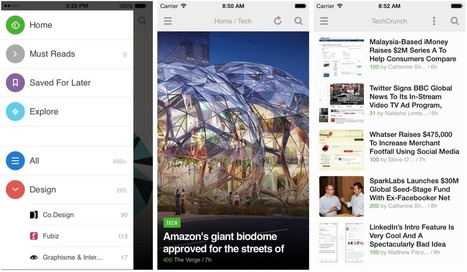 What's new in feedly v17 for iPhone and iPad? | Tools You Can Use | Scoop.it