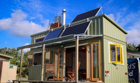 New Zealand - Luxurious tiny home is off-grid and 100% self-sustaining   L'usager dans la construction durable   Scoop.it