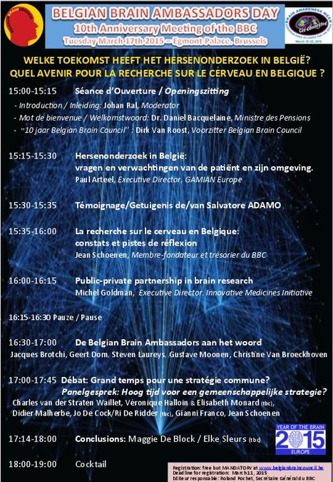 Belgian Brain Ambassadors Day | News from the Belgian Pain Society | Scoop.it