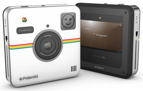 Polaroid's Socialmatic Camera that Looks Like an Instagram Logo Will Arrive this Fall | smartphone photography | Scoop.it