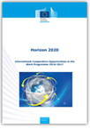 Horizon 2020: International cooperation opportunities in the work programme 2016-2017 | Higher education news for libraries and librarians | Scoop.it