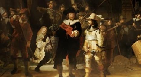 Clic France / Exposition du Rijksmuseum: le mécène KPN redonne vie aux toiles de Rembrandt | Clic France | Scoop.it