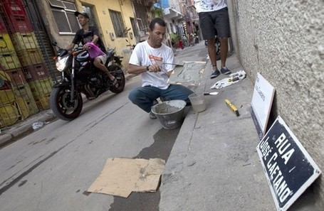 Rio's shantytowns are finding a place on city maps | FCHS AP HUMAN GEOGRAPHY | Scoop.it