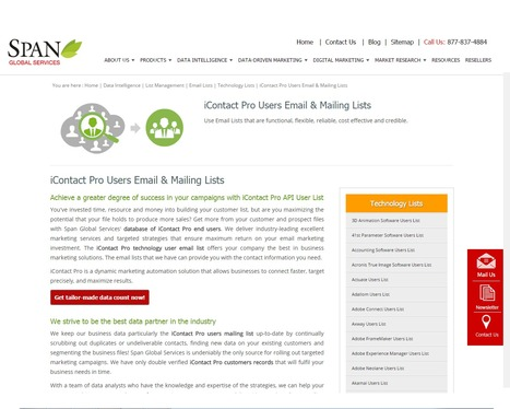 Buy iContact Pro Vendors List from Span Global Services | Span Global Services | Scoop.it