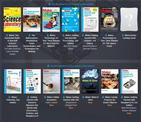 Let's 'Make:' Another Humble Bundle! - GeekDad | Differentiation Strategies | Scoop.it