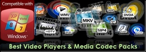 The Best Free Video Players & Media Codec Packs For Playing All Your Video Files   Rapidleech2day   Scoop.it