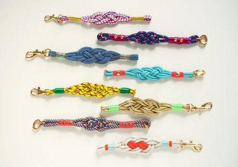 Nautical Knot Bracelets | Orecchini Fai da Te: i migliori tutorial | Scoop.it