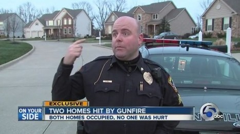 Recreational assault weapons fire riddles Ohio home, narrowly misses officer | The Raw Story | enjoy yourself | Scoop.it