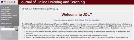 JOLT - Journal of Online Learning and Teaching | Digital Literacy & Tertiary Education | Scoop.it