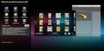 En la nube TIC: Cooliris Express. Muro 3D para nuestro blog. | Tips&Tricks | Scoop.it