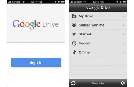 Google Drive for iOS Hands-on: Worth the Download? | Using Google Drive in the classroom | Scoop.it