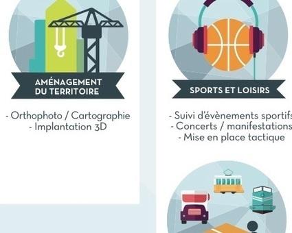 Utilisation possibles des drones : transports et aménagement du territoire | Web 2.0 et société | Scoop.it