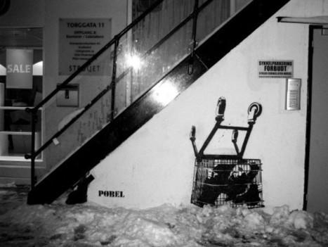 PØBEL – STREET ART (Almost Norwegian Banksy) - Hot Penguin | Street Protest Art | Scoop.it