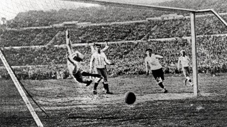 Restored Footage from the First World Cup: Uruguay, 1930   Preserve and Share Home Movies   Scoop.it