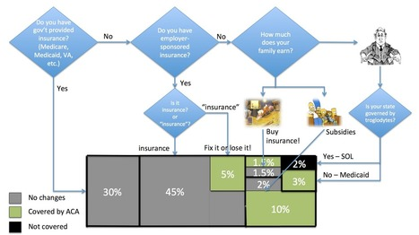 The Obamacare flowchart | Using Lean and Six Sigma in Healthcare | Scoop.it