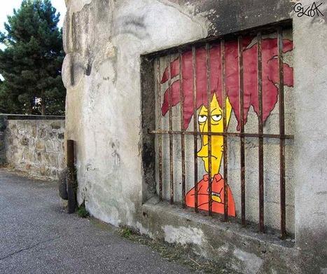 20 street arts malins et créatifs imaginés à partir de défauts urbains | recyclage créatif | Scoop.it