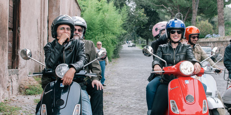 She Followed Her Dream To Italy -- Now Hundreds Of Others Are Right Behind Her...Riding Scooters | Italia Mia | Scoop.it